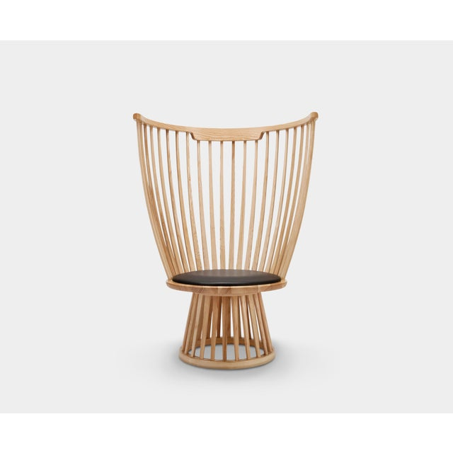 Not Yet Made - Made To Order Tom Dixon Fan Chair in Natural For Sale - Image 5 of 7