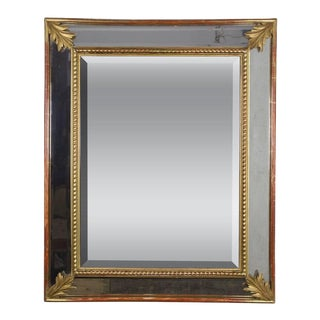 French 19th Century Giltwood Beveled Mirror For Sale