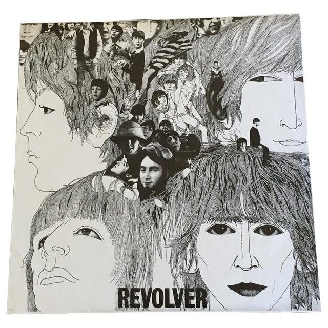 """Vintage Beatles """"Revolver"""" Poster For Sale"""