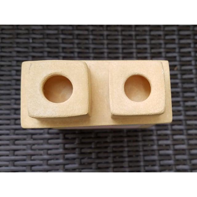 Van Assche Geometric Modernist Candleholder - Image 5 of 6