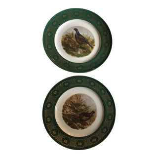 1930s Bavaria Western Germany Decorative Plates - a Pair For Sale