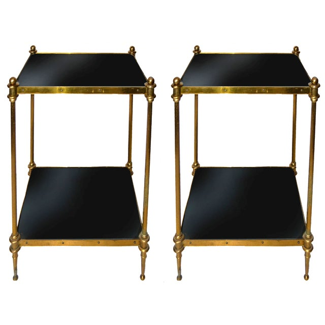 Vintage Maison Jansen Style Side Tables - A Pair - Image 1 of 7