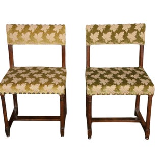 17th Century Gothic Side Chairs - a Pair For Sale