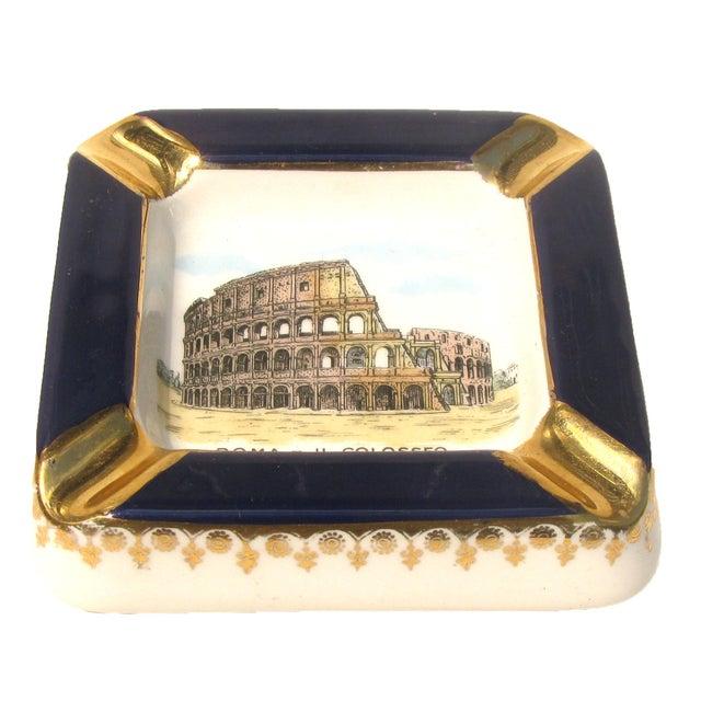 Mid-Century Modern Midcentury Italian Souvenir Ashtray For Sale - Image 3 of 4