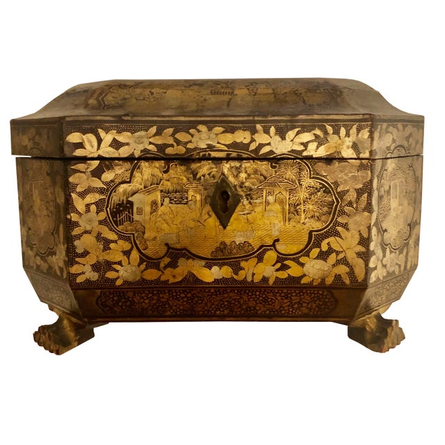 19th Century Chinese Tea Box For Sale - Image 11 of 11
