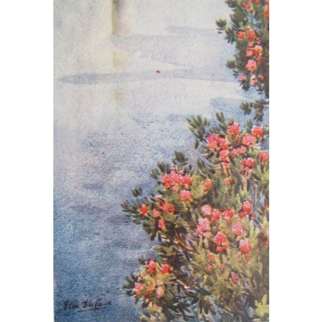 1905 Ella du Cane Print, Villa Giulia, Lago di Como - Image 5 of 5
