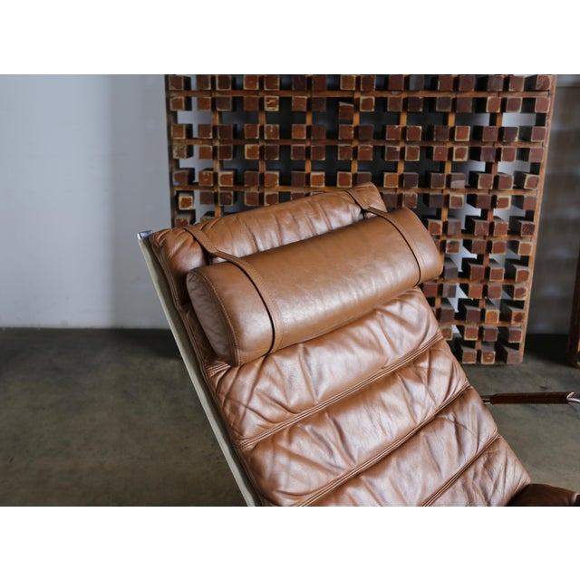 Preben Fabricius and Jørgen Kastholm for Alfred Kill Grasshopper Chaise For Sale In Los Angeles - Image 6 of 13
