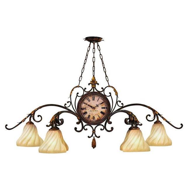 Fine Art Lamps Antiqued Iron Chandelier - Image 1 of 10