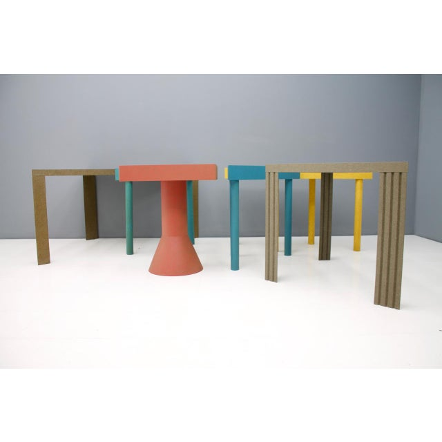 Set of Six Tangram Tables by Massimo Morozzi for Cassina, 1983 For Sale - Image 6 of 11