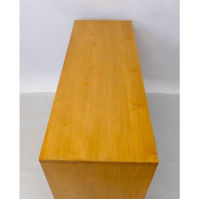Aluminum Paul McCobb for Winchendon Original Finish Planner Group Double Dresser For Sale - Image 7 of 8