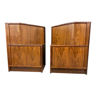 Mid Century Bedside Tables - a Pair For Sale