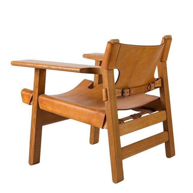 "Børge Mogensen ""Spanish"" Chair - Image 4 of 10"
