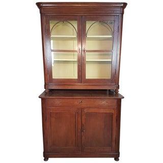 19th Century Italian Charles X Walnut Sideboard For Sale
