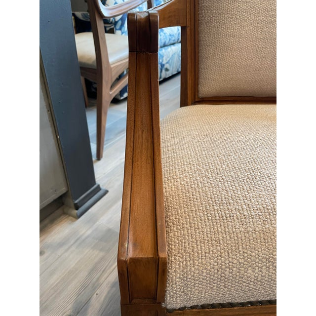 Set of 8 Traditional Louis Oak Dining Chairs For Sale - Image 10 of 11