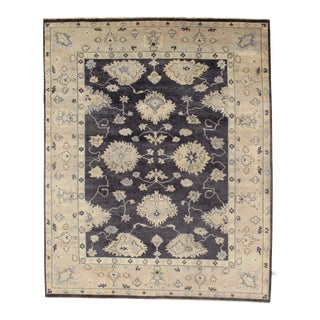 """Traditional Pasargad N Y Original Oushak Design Hand-Knotted Rug - 8'1"""" X 9'10"""""""