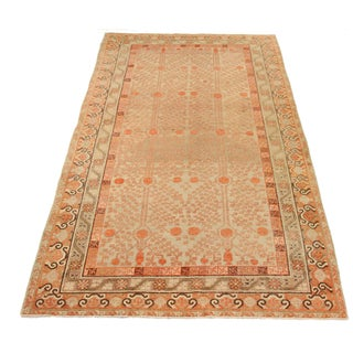 Early 20th Century Antique Central Asian Khotan Style Rug - 6′7″ × 12′9″ Preview