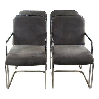 Janus Designs Mid-Century Modern Side Chairs - Set of 4