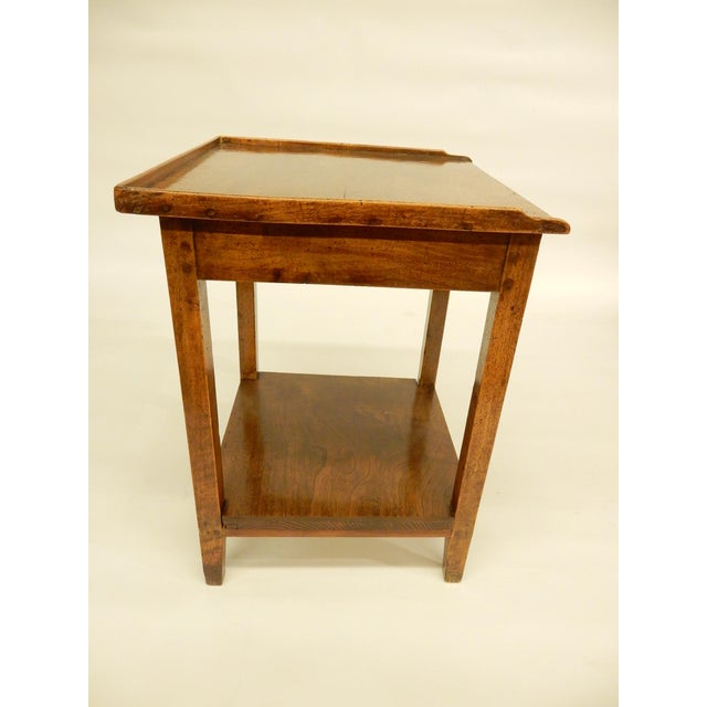 Early 19th Provincial Walnut Side Table For Sale In New Orleans - Image 6 of 7