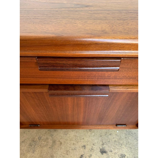 Brown John Keal for Brown Saltman Walnut Nightstands For Sale - Image 8 of 13