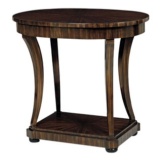Scarborough House Oval Occasional Table For Sale