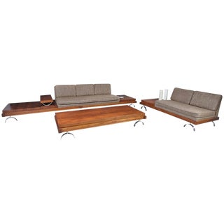 Martin Borenstein Sofa, Loveseat and Coffee Table from the Challenge Series For Sale