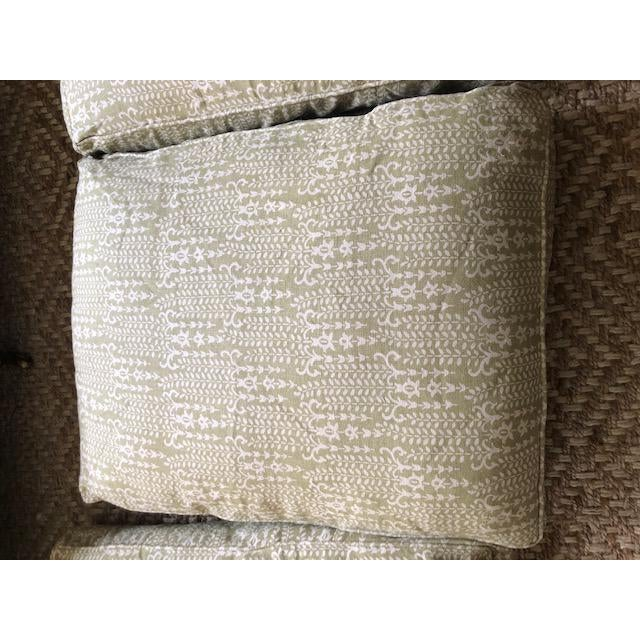 Modern George Smith Sofa For Sale - Image 9 of 13