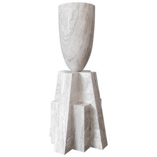 Babel Marble Vase, Arno Declercq For Sale