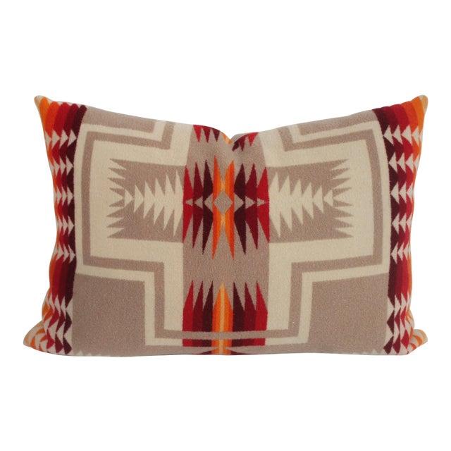 Pendleton Pattern Pillow For Sale