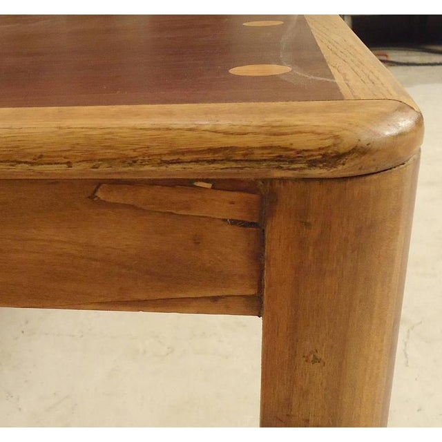 Mid-Century Modern Lane Table With Inlay For Sale - Image 3 of 5
