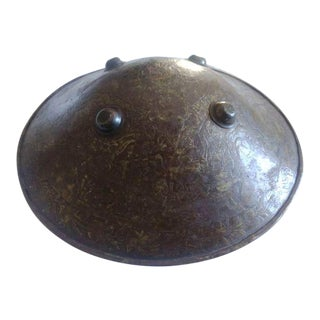 Antique 18th Century Islamic Mughal Shield For Sale