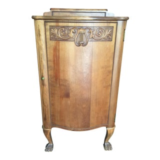Antique Sheet Music Cabinet For Sale