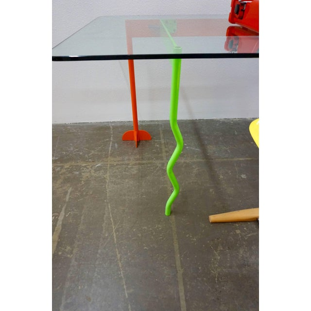 """Peter Shire Peter Shire """"Memphis Milano"""" Desk, 1982 For Sale - Image 4 of 6"""