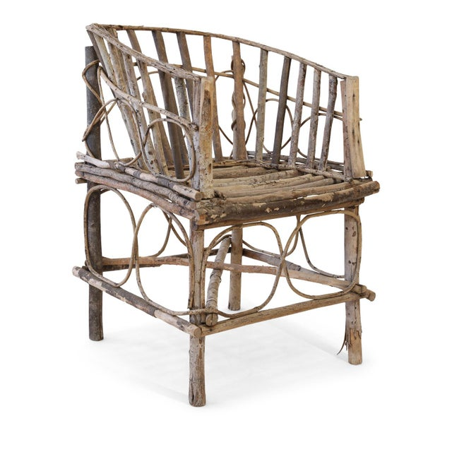 Antique French Twig Chair For Sale - Image 13 of 13