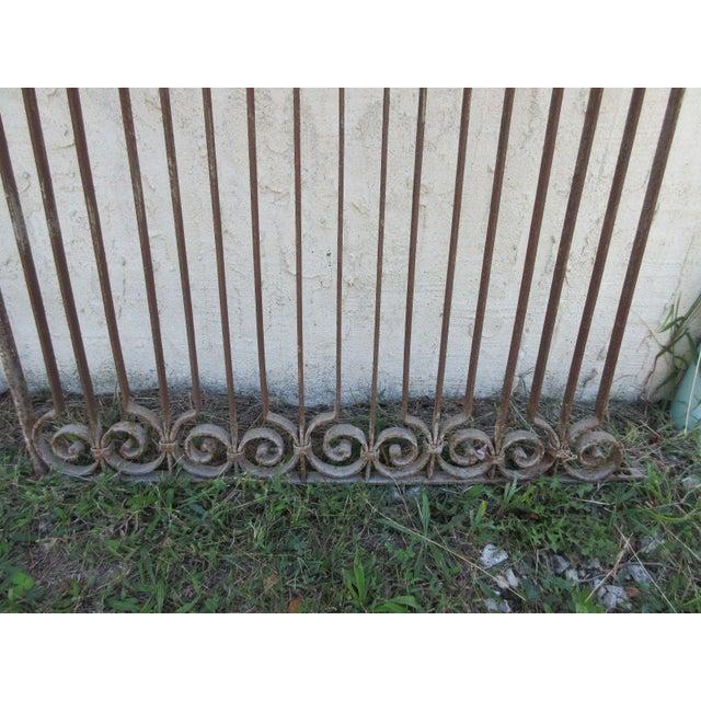 Antique Victorian Iron Gate - Image 4 of 6