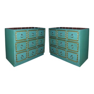 "Classic ""Espana"" Chests in the Style of Dorothy Draper - A Pair For Sale"
