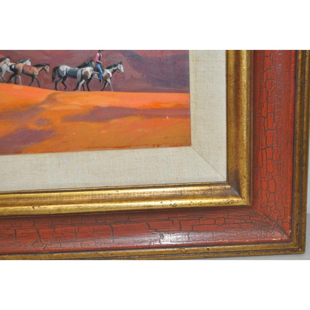 """Acrylic """"Navajo Drive"""" Acrylic Painting by Ted Littlefield For Sale - Image 7 of 9"""