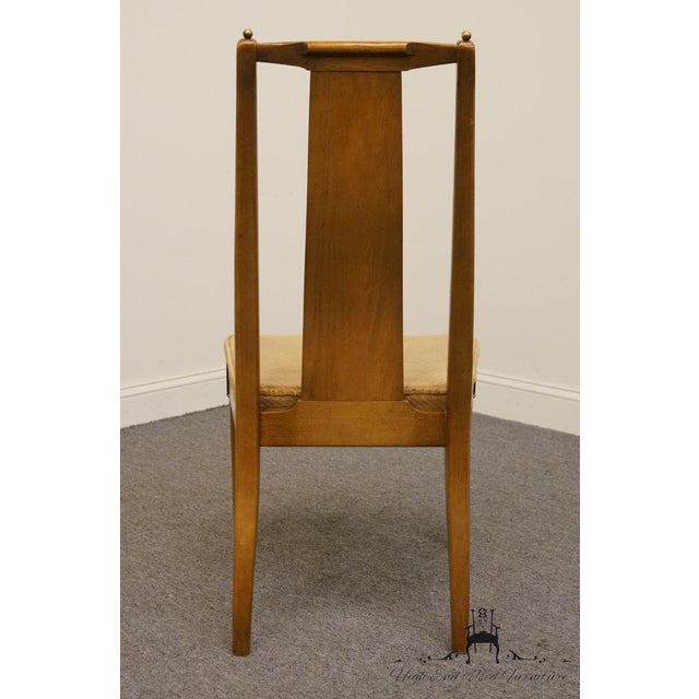 Late 20th Century Late 20th Century Vintage American of Martinsville Asian Inspired Dining Chair For Sale - Image 5 of 8