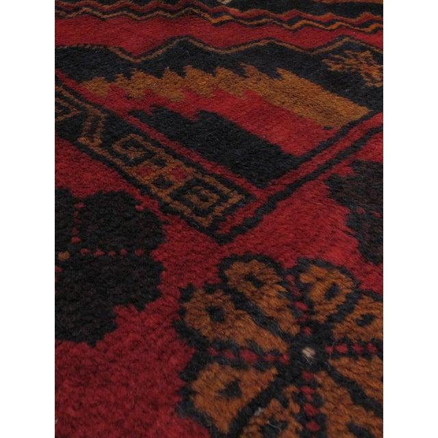 """Vintage Finest Rizbaft Afghan Rug - 8'2"""" X 12'6"""" - Image 2 of 2"""