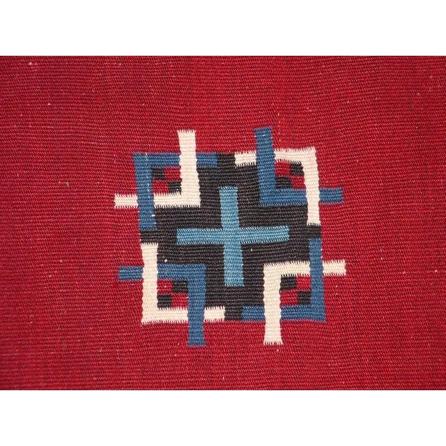 Vintage Southwest Saltilo Serape Rug - 4′10″ × 6′8 - Image 5 of 10