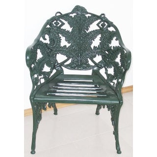 New Green Cast Aluminum Three-Seat Garden or Park Bench Preview