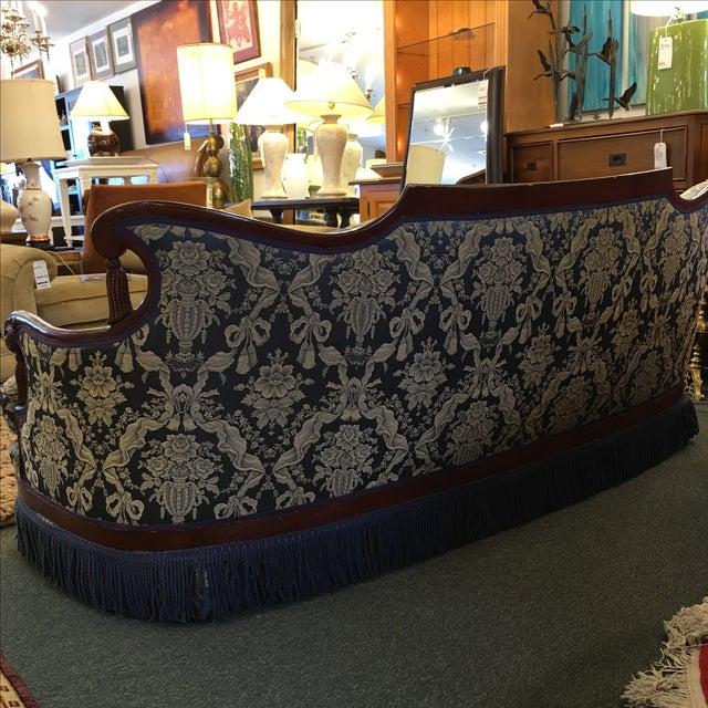 Vintage Victorian Fringe Sofa - Image 5 of 11