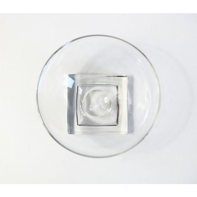 Square Base Champagne Glasses - Set of 7 - Image 4 of 5