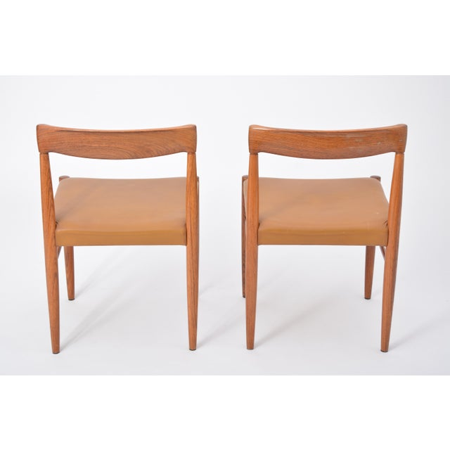 Animal Skin Rosewood Dining Chairs by h.w. Klein for Bramin, Set of Four For Sale - Image 7 of 12