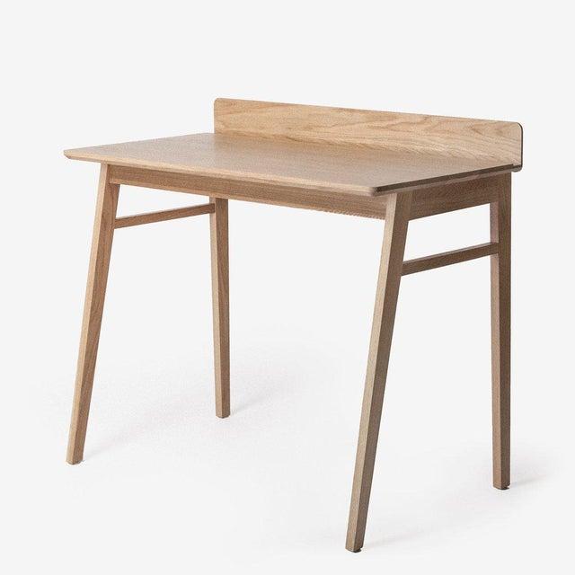 Solid White Oak Desk - Image 2 of 5
