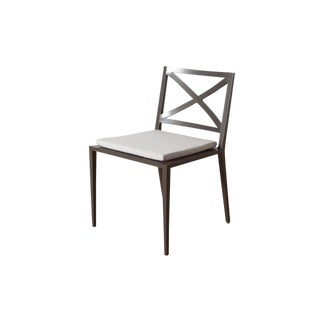 Modern Azimuth Dining Side Chair For Sale