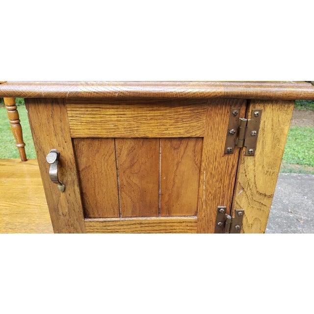 Vintage Telephone Desk For Sale - Image 4 of 12