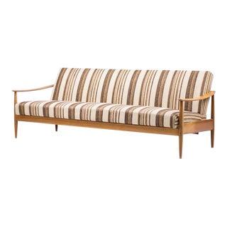 Scandinavian Mid-Century Modern Living Room Suite with Folding Sofa