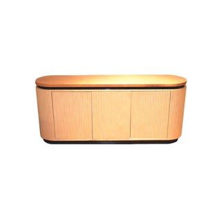 Lacquered Goatskin Credenza by Enrique Garcel of Colombia