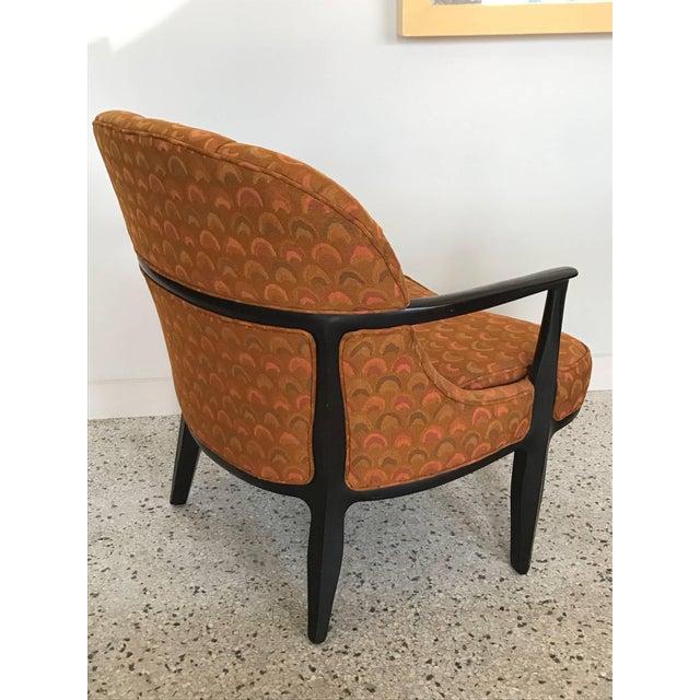 Pair of Classic Dunbar Janus Armchairs in Larsen Fabric For Sale In Tampa - Image 6 of 10