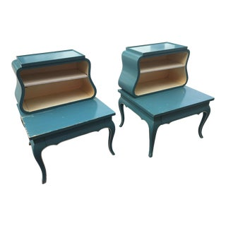 Vintage Grosfeld House Side Tables - A Pair
